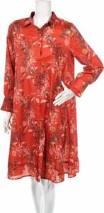 Sukienka Lovie & Co koszulowa z długim rękawem