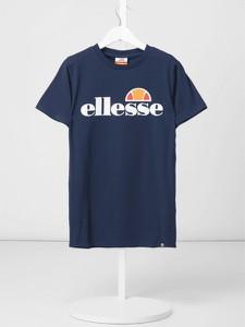 Granatowa koszulka dziecięca Ellesse