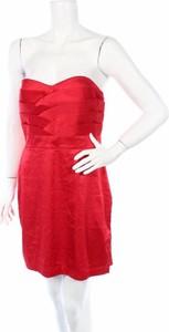 Czerwona sukienka Tfnc London mini