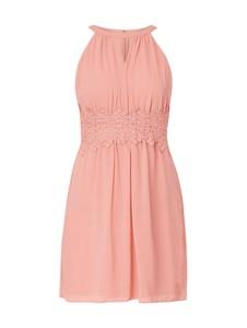 Sukienka Vila z okrągłym dekoltem mini