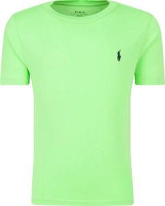 Zielona koszulka dziecięca POLO RALPH LAUREN