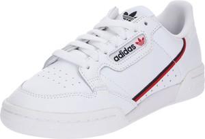 Trampki Adidas Originals sznurowane niskie ze skóry