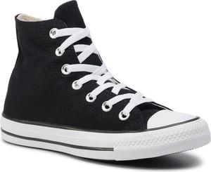 Trampki CONVERSE - Ctas Hi 165694C Black/White/Black
