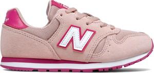 Buty sportowe dziecięce New Balance sznurowane dla dziewczynek