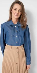 Niebieska bluzka ORSAY