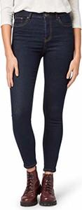 Granatowe jeansy Tom Tailor Denim (nos) w street stylu