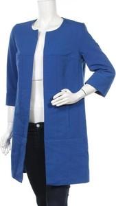 Niebieski płaszcz Nife w stylu casual