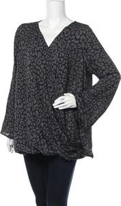 Czarna bluzka Tania Kay z dekoltem w kształcie litery v
