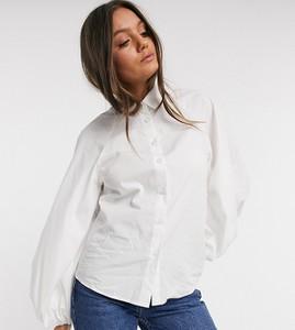 Koszula Asos z długim rękawem z bawełny