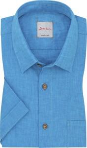 Koszula Signum z krótkim rękawem z bawełny