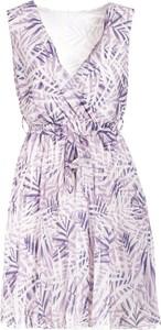Sukienka Multu mini z dekoltem w kształcie litery v