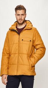 Żółta kurtka Jack Wolfskin w stylu casual