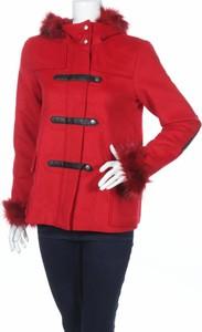 Czerwony płaszcz So Soon By Women Dept w stylu casual