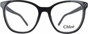 Granatowe okulary damskie Chloe'