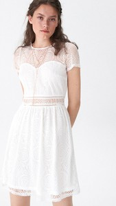 Sukienka House z okrągłym dekoltem mini