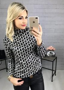 Bluzka Ubra z długim rękawem w młodzieżowym stylu