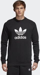 Granatowa bluza Adidas Originals w sportowym stylu