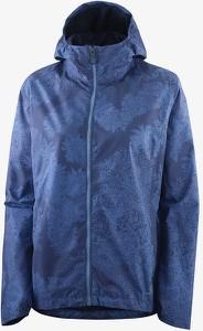 Niebieska kurtka Salomon krótka w sportowym stylu