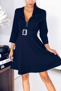 Niebieska sukienka Ivet.pl w stylu casual