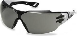 Czarne okulary damskie Uvex