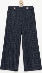 Niebieskie spodnie dziecięce Reserved z dzianiny