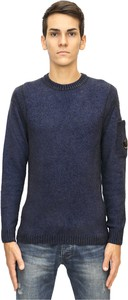 Sweter C.P. Company z dżerseju w stylu casual