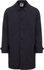 Czarny płaszcz męski Aspesi