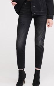 Czarne jeansy Reserved w stylu klasycznym
