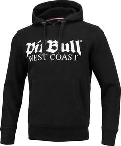 Czarna bluza Pit Bull z tkaniny