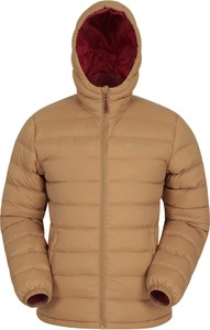 Brązowa kurtka Mountain Warehouse z tkaniny krótka