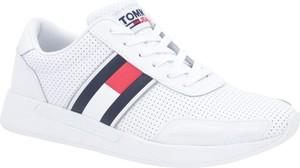 Tommy Jeans Skórzane sneakersy