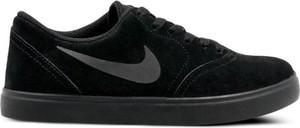 Czarne trampki dziecięce Nike