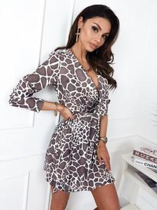 Sukienka Infinityfashion.pl z długim rękawem w stylu casual mini