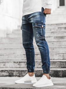 Jeansy ozonee.pl w młodzieżowym stylu z jeansu