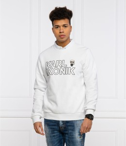 Bluza Karl Lagerfeld w młodzieżowym stylu