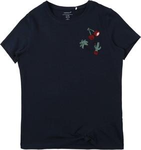 Granatowa bluzka dziecięca Name it