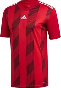 T-shirt Adidas z krótkim rękawem z nadrukiem w sportowym stylu