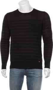 Czarny sweter Deep End w stylu casual z okrągłym dekoltem