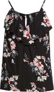 Bluzka bonprix RAINBOW na ramiączkach z dekoltem w kształcie litery v w wakacyjnym stylu