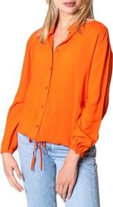 Pomarańczowa koszula Only