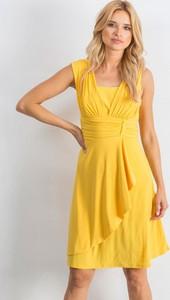 Żółta sukienka Sheandher.pl