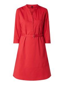 Sukienka S.Oliver Black Label w stylu casual z bawełny z długim rękawem