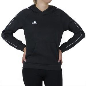 Czarna bluza dziecięca Adidas z bawełny