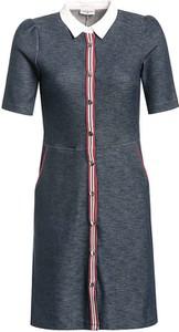 Sukienka Vive Maria z kołnierzykiem z krótkim rękawem