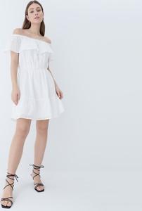 Sukienka Mohito z krótkim rękawem trapezowa hiszpanka