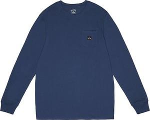 Niebieska bluza Billabong w stylu casual z bawełny