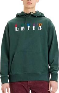 Zielona bluza Levis z bawełny