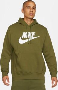Zielona bluza Nike z polaru