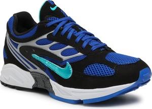 Granatowe buty sportowe Nike sznurowane