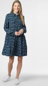 Niebieska sukienka Y.A.S z długim rękawem
